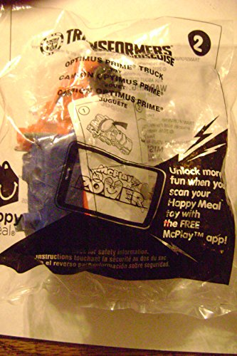McDonalds Happy Meal 2016 Transformers Optimus Prime Truck Toy