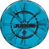 Dynamic Discs Prime Burst Judge Disc Golf Putter | 170g Plus | Throwing Frisbee Golf Putter | Stable Disc Golf Flight | Beaded Disc Golf Putter | Stamp Color Will Vary (Blue)