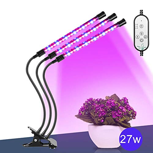 Lamp voor plantengroei, volspectrum, verlichting voor planten, volspectrum, led, 12 V, 9 W, 18 W, 27 W, clip op USB, powered fyto-lamp desktop plant growth Lighting Indoor F