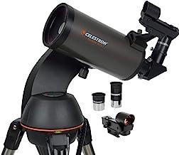 Celestron - NexStar 90SLT Computerized Telescope - Compact and Portable - Maksutov-Cassegrain Optical Design - SkyAlign Te...