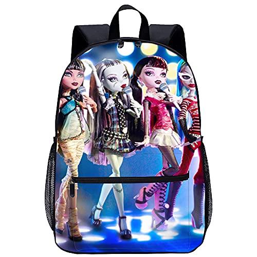 KKASD Monster High School impression 3D mode voyage sac...