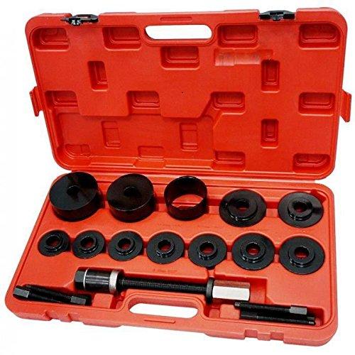Flyelf 19 TLG Radlagerwerkzeug, Radlagerabzieher, Montage Radlager Werkzeug Set mit Transportkoffer