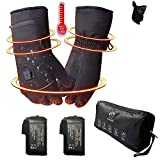 Decyam Electric Heated Gloves Rechargeable Li-ion Battery Hand Warmers for Men Women Cold