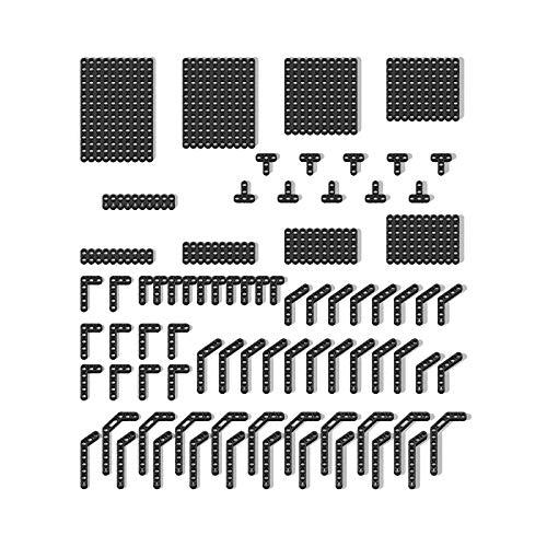 Fujinfeng Technik Teile für Lego, Lochbalken Teile Balken mit T-Form L-Form usw. Technic Teile Einzelteile