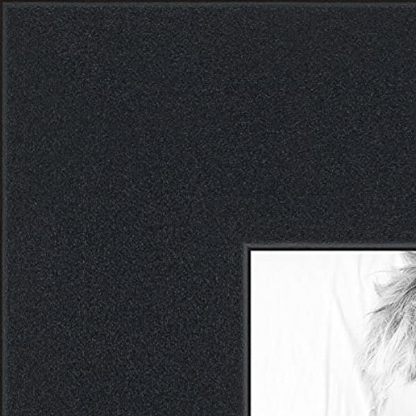 ArtToFrames 18x18 Inch Satin Black Picture Frame 2WOMFRBW26079 18x18
