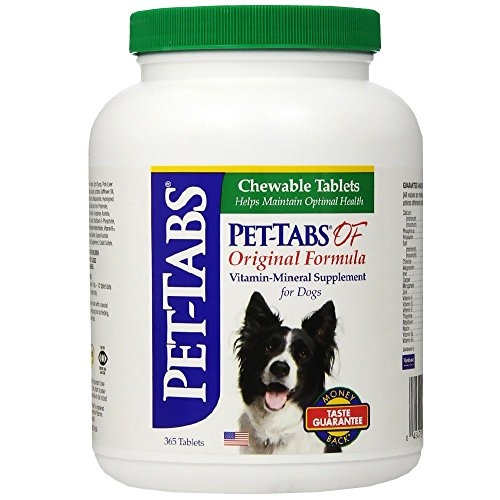 Pet Tabs Original Formula Vitamin Supplement, 365 Count