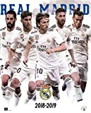 Erik Editores Mini-Poster Real Madrid 2018/2019 Gruppe