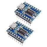 HiLetgo 2pcs JQ6500 Voice Sound Music MP3 Play Control Module DIP-16 UART SPI Flash 32Mbit