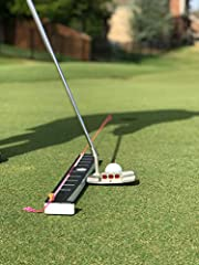 TRAINING TIME: 15 minutes, 3 times a week, 3+ strokes off your game. 60-Day Refund, Lifetime manufactures warranty FITS ALL GOLFERS: Men, women, kids, first-time golfers, expert golfers, left- or right-handed; builds CONFIDENCE! DURABILITY: Run it ov...
