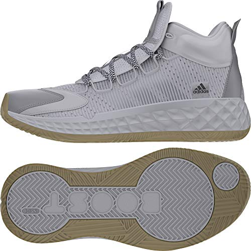 adidas Pro Boost Mid, Zapatillas Unisex Adulto, FTWBLA/Plamet/Blatiz