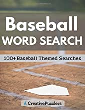 Baseball Word Search: Activity Puzzle Book Volume 1