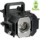 Angrox V13H010L49 Bulb Lamp for Epson ELPLP49 PowerLite Home Cinema 8350 8345 8500UB 8700UB 8100 6100 6500UB 7100 7500UB Replacement Projector Lamp