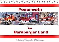 Feuerwehr im Bernburger Land (Tischkalender 2022 DIN A5 quer): Feuerwehrfahrzeuge im Bernburger Land (Monatskalender, 14 Seiten )