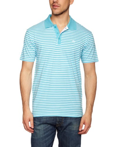 Quiksilver - T-Shirt - Homme - Bleu (Blackies Blue) - FR: Small (Taille fabricant: Small)