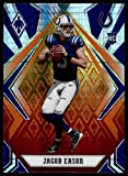 2020 Panini Phoenix Fire Burst #116 Jacob Eason Indianapolis Colts (Silver Prizm Refractor) NFL Football Card (RC - Rookie Card) NM-MT. rookie card picture