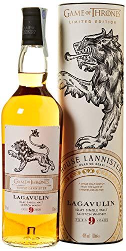Lagavulin 9 Year Old - House Lannister Whisky Single Malt - 700 ml