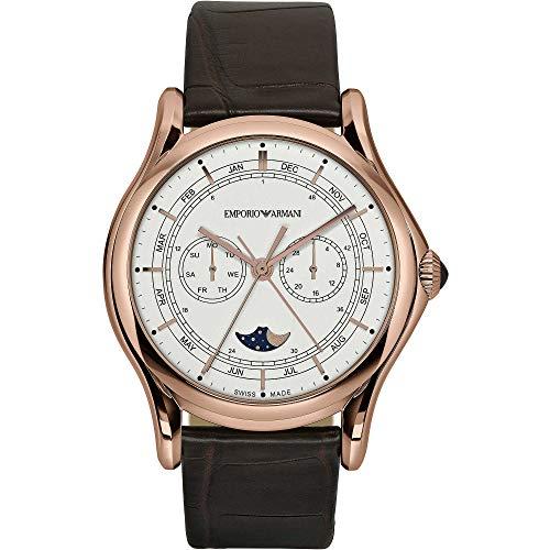Emporio Armani Swiss - Reloj solo tiempo para hombre, de moda, cód. ARS4202