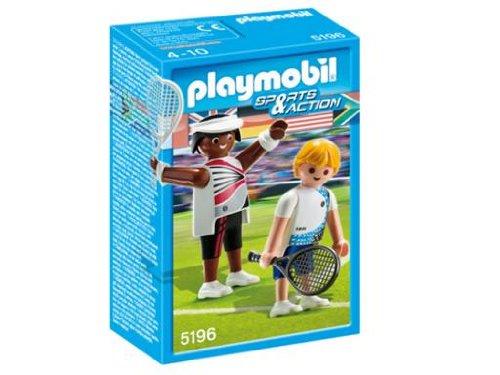Playmobil 5196 - Partita di tennis