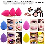 Beauty Shopping BEAKEY 5 Pcs Makeup Sponge Set Blender Beauty Foundation Blending Sponge, Flawless