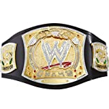 Official WWE Authentic WWE Championship Spinner Replica Title Belt,Multicoloured,One Size