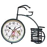 s.w.h tavolo europeo muto stile orologio digitale orologio soggiorno camera da letto orologio decorativo clock ornamenti in ferro battuto creativo