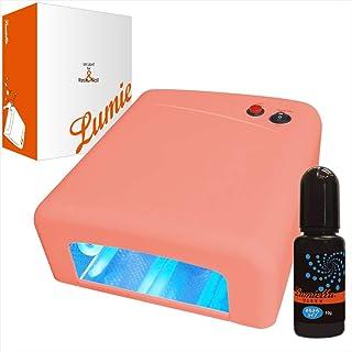 リュミエラ(Lumiella) CX111S 36W UVライト レジン液10g付き ハイパワー タイマー付き ピンク