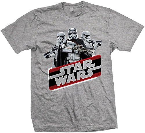 Rockoff Trade Episode VII Vintage Phasma T-Shirt, Gris, XL Homme