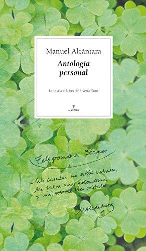 Antología personal (Poesía)