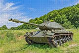 Rompecabezas para Adultos Reino Unido Inglaterra Wareham The Tank Museum Puzzle 1000 Piezas Recuerdo de Viaje de Madera