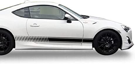 Bubbles Designs 2X Decal Sticker Vinyl Side Racing Stripes Compatible with Toyota GT86 FT86 2012-2016