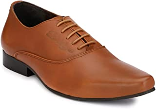Delize Black/Tan Darby Shoes for Men's
