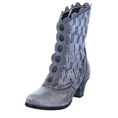 Simen Damen Stiefel Grau gewischter Stiefel 0463A grau 545311