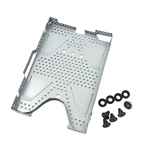 Zhuhaixmy Ersatz HDD Festplatte Träger Fußplatte Mit Schrauben für PS4 Slim Konsole