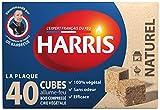 Harris - FEU40 - Allume-Feu - 40 Cubes Naturels