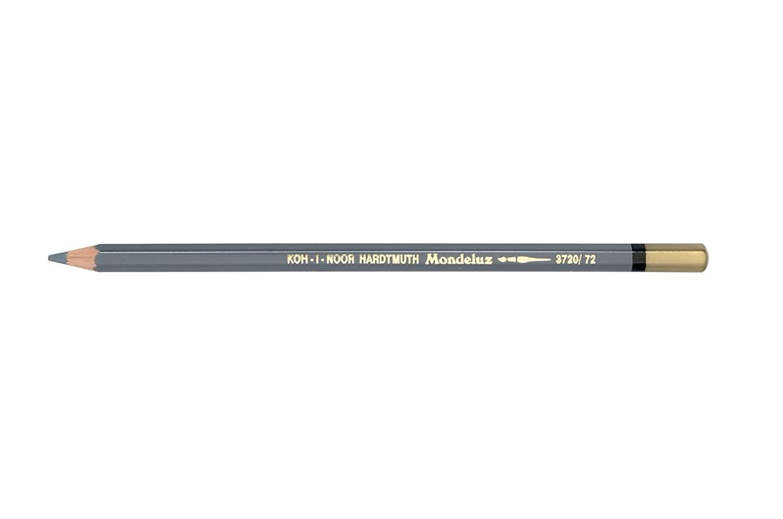 Chartpak 3720072007KS 3720 Slate Grey Mondeluz Pencil