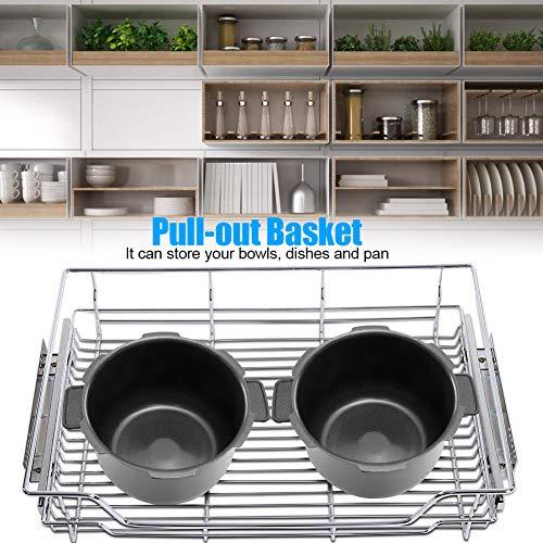 Zoternen Cajón Telescópico Cocina Organizador Cesta