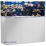 Aqua Medic Armatus Aquarium Complet d'eau de mer Blanc 450 cm