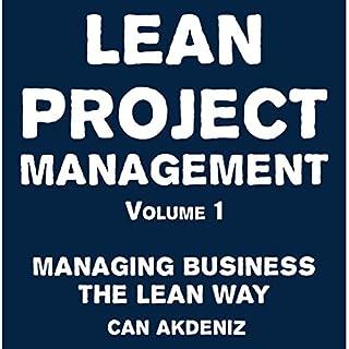 Lean Project Management Volume 1 audiobook cover art