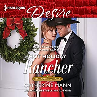 Hot Holiday Rancher audiobook cover art