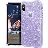 MATEPROX iPhone Xs case,iPhone X Glitter Bling Sparkle...