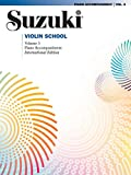 Suzuki Violin School Piano Accompaniment, Volume 5 (Revised) (Suzuki Method Core Materials)