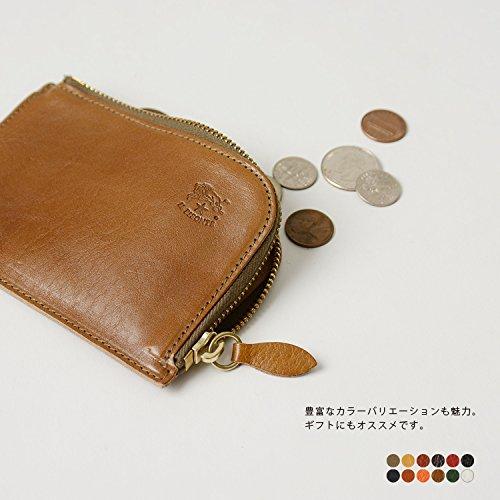 (イルビゾンテ)ILBISONTEL字ファスナーレザーコインケース・5432404540(one/yakinume(col.45))