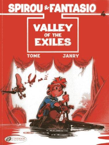 Spirou & Fantasio - tome 4 Valley of the Exiles (04)