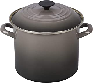 Le Creuset N5100-227F Stockpot, 8 qt, Oyster