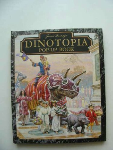 Livro Pop-Up Dinotopia