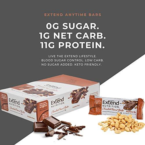 Extend Bars, High Protein Sugar-Free Bars