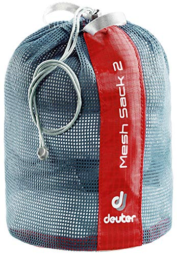 Deuter Mesh Sack 2 Packsack, Fire, 17 cm, 2 L