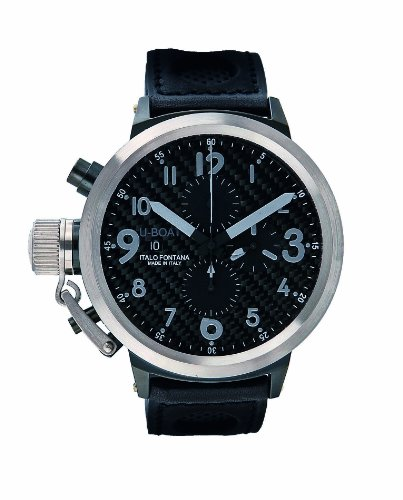 U-Boat Orologio da uomo orologio da polso Flight Deck Steel Bezel 431840