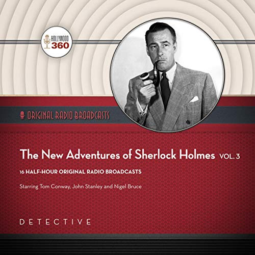 The New Adventures of Sherlock Holmes, Vol. 3 audiobook cover art