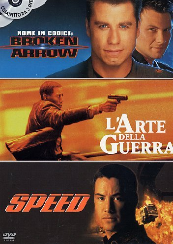 Nome in codice: Broken arrow + L'arte della guerra + Speed [3 DVDs] [IT Import]